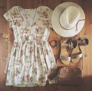 Perfect Summer Outfit (found on pinterest.com)