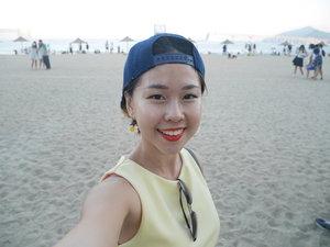 So much love for a good weather and sandy beach at Gwanganli Beach!!!