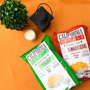 The tastiest potato chips I've tasted so far so gooooood!  California Crunch is available at all SM Supermarket and Hypermarket nationwide, FamilyMart, Mercury Drugstore, Landers, Landmark, Circle K, Aya Gold, Cash and Carry and Unimart.