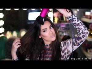 Braided Back Hair Tutorial - YouTube