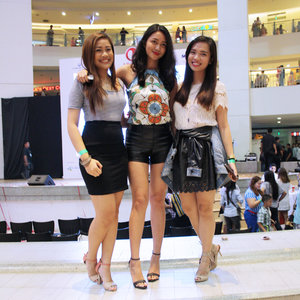 Clozette Ambassadors at the #LifetimeWithAnne event at Trinoma