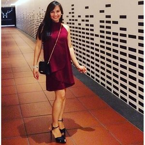 At the Female Gorgeous People 2015 Party ; The Best Dressed Edition. Thanks again for the invite @female_singapore @anicohannamg #femalegp2015party #ootd #clozette #ootn #femalesingapore