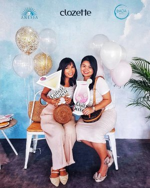 At @clozetteco Tea Party yesterday with @sueshabar. Had mocktails by @freeflowevents, our initials engraved into our @anessasg sunblock, glitter hair by @glitaf and ate lots of cake by @huckleberry_sg @spatulaandwhisk of course. Thank you Clozette for having us 🍰🍹💕 . Check out the event on my stories. In case you miss it, feel free to stalk my highlight