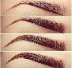 Eyebrow shading