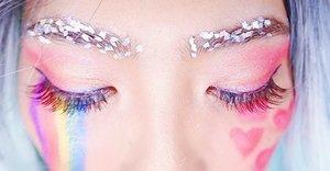 Eyebrows on fleek💕💕 day everyone! #heartlips #kawaiimakeup #clozette #clozetter #fashionmakeup