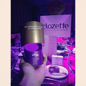 Yay, happy to know our K-Wave won Bronze for Best Engagement Strategy for Female Audience from Marketing Magazine! #LEAwards2015 #Clozette