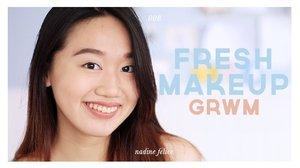 Fresh & Natural Makeup Look | grwm - YouTube