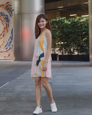 Feeling colourful today~ 👗 @shopsassydream #maybelineootd #maybelinexssd