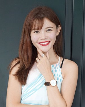 Know why I am smiling so brightly? It is because Daniel Wellington is now offering a FREE STRAP with any watch purchase! 😍😍 Head over to www.danielwellington.com or any official DW stores in Singapore to enjoy this special deal before it ends on 14th July. Remember to use my code  for EXTRA -15% OFF at check out! It's free shipping on all orders too! #DanielWellington #DWsummer #DWSingapore #DWinSG