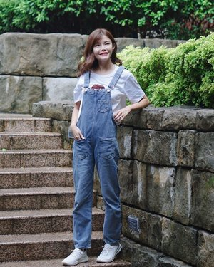 Weekend denim outfit from @shopjenith #maybelineootd