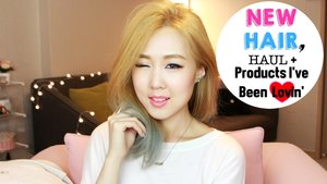 CHITCHAT: My New Hair, Update & Beauty Haul! ♥ 뉴헤어, 업데잇 + 뷰티 하울 - YouTube