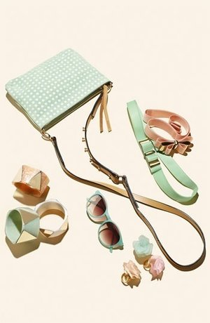 Love the mint and rose gold colour scheme