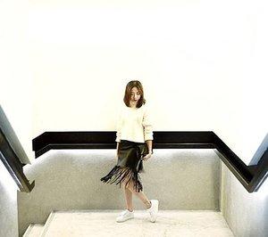 Swishy skirt and Squishy sweater...#Clozette #stylexstyle #ootd #ootdsg #sgfashionistas #F21SGXELLE