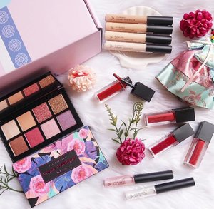 Althea Makeup Box just landed, and I'm going 'gaga' over these new makeup products!😱♥️♥️-So aside from the awesome skincare products that they've launched last year, here they are again, welcoming the new year with a bang!!!🤩 There's a collab eyeshadow palette, liquid concealers, watercolor cream tints, and spotlight eye glitters—pretty much a good start! Now I can't wait to try them on our next OBMT!♥️-Which one would you LOVE to try, loves?....#missgdiaries #missgblogs #altheaangels #altheamakeup #clozette #beauty #bloggers #vlogger #youtuber #makeup #makeuptutorial #beautybloggers #abcommunity #newproducts
