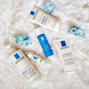 Yay my #favourite go to brand for sensitive skin at the moment. From the shower to going outdoors, I'm covered 😊 . . . #lrpsg #betterlifeinblue #larocheposay #lipikar #saveyourskin #sensitiveskin #dryskinrelief #skincare #skincareproducts #skincarejunkie #skincareroutine #eczemarelief #clozette