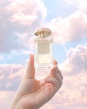 The prettiest scent ☁️ ☁️ ☁️ @aerin #aerinlauder