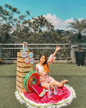 Enjoy the summery day with @sunsilkmy Watermelon and Mint Shampoo ❤️ made with all naturals ingredients #sunsilknaturals and you can get it now exclusively from @watsonsmy now 😍 . . 🍉🍃🍉🍃🍉🍃 . . #WatsonsMY #sunsilkmy #snowmansharing