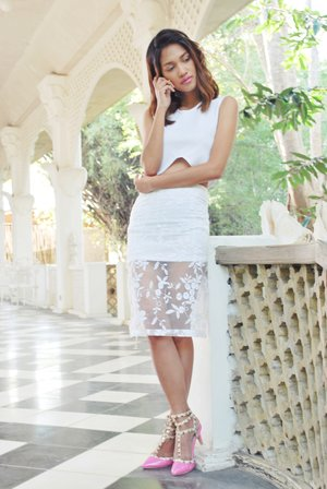 WHITE is not just for the BRIDE.