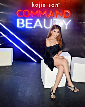 """Last night at @kojiesanph The market's leading beauty soap, launches its newest campaign """"Command Beauty"""". Never be afraid to go bold and loud again, #KojieSan empowers women across the globe to define their own standards of beauty.  Congratulations, #BEVI Beauty Elements Ventures Inc.! #CommandBeauty #StylebyMgrazielle #Clozette"""