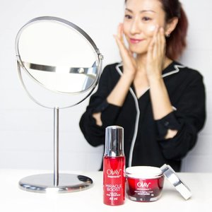 Every morning, I will take time to make sure my skin is well fed with these #Miracleduo. I want my skin to look radiant, has smooth texture and plump. #Olaymalaysia has created two products that do just that - Regenerist Miracle Boost Youth Pre-Essence and Regenerist Micro Sculpting Cream. . . #weekdays #monday #beauty #clozette #beautyreview #olay #malaysianblogger #serum #moisturizer #malaysia #olayregenerist #skincare #beautyblogger