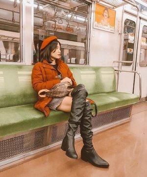 Tokyo's subway is an adventure on it's own 🚈 taken 6 months ago