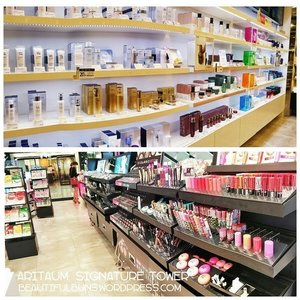 One of my favourite sights in Korea - The shelves of Aritaum lined with beauty goodies waiting to be adopted by me :D