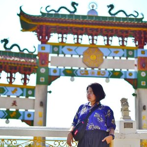 Missing the #elyu heat at Ma-Cho Temple.  #qingTravels #clozette