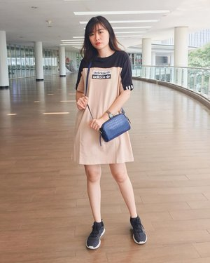 Wearing tee dress from @adidasindonesia • #clozette #clozetteid #ootd #lookoftheday #fashion #style #lookbook #whatiwore #whatiworetoday #outfit #fashionista #instastyle #instafashion #outfitpost #fashionpost #fashiondiaries #adidas #adidasindonesia #adidasoriginals