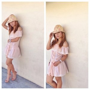 Not all those who wander are lost.  Pink Pastel | Nude  #summer #ootd #ootdph #fashionph #lookbook Tag PhotoAdd LocationEdit