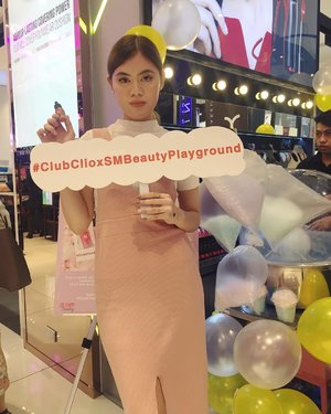 Had fun at the #smbeautyplayground last week. Had a sneak peek at the latest in the beauty industry, enjoyed some celebrity performance, and full of runway fun! Head down to SM Makati @smmakati and enjoy their newly revamped @smbeautyph section! Thanks for having me! 🎀