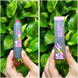 This is insanely cute!! Lipstick from #lapcos #hermomy #makeup #disney #daisy #haul #beautyhaul #clozette