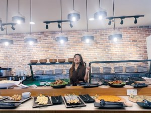 samgyupsal anyone? 🙋🏻♀️ Visited Matgalne Korean Restaurant's newest branch in South and I'm satisfied yayy ✨ 📍 Matgalne Korean Restaurant SM Hypermarket Sucat Lopez (Ground Level)