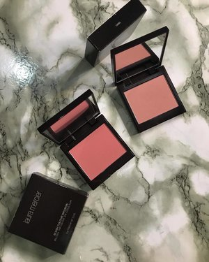 Current fav blushers: @lauramercier (Left) Rosé (Right) Chai • • I love the formula of these blushers. CHAI isn't as pigmented as other blushers in my #makeupcollection but tbh that's the reason I love it  I can't make mistakes and I can pile on as much as I like. ROSÉ is fairly new to my collection. It is a warmer pink and more pigmented than CHAI. Both shades would look beautiful on all skin tones. • • And I especially love the names of the blushers too. Which one did you pick up? • • #MyRomana #MyRomanaLauraMercier #Clozette #LauraMercier #LauraMercierMy #Sephora #SephoraMy @sephoramy #makeuplover #discoverunder100k #beautyblogger #instablogger #over50beauty #makeupfeed #flatlaystyle #makeupflatlay