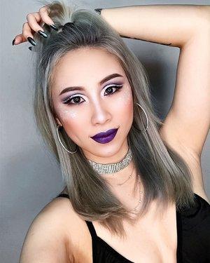 Always loving cut crease and my life back to purple 💜💜💜 #ladies_journal #beauty #makeup #mua #mufe #motd #selfie #clozette #clozetteid #hudabeauty #katvond #benebabe #benefitcosmetics #nyxcosmetics #tarteist #tartecosmetics #anastasiabeverlyhills #stila #toofaced