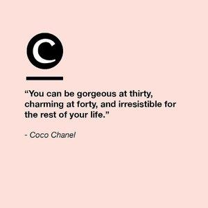 Beauty knows no age. #Clozette #ClozetteQuotes