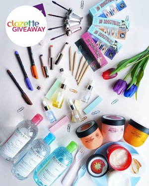 #ClozetteGIVEAWAYS: Pamper yourself with these self-care treats! We're giving away colourful sets from 5 (five) amazing brands —  Benefit, Bioderma, Fenty Beauty, Skin Inc. and The Body Shop —  to 3 (three) lucky winners (worth approx. SGD650/PHP25,000/MYR1,200). All you simply have to do is:  1. FOLLOW @clozetteco on Instagram,  2. LIKE this photo,  3. COMMENT and TAG 3 friends to follow us and spread the love!  Giveaway runs from now till 28 June 2019 (11:59PM), and is open to residents in Singapore, Malaysia, and the Philippines. #Clozette #ClozetteVoices