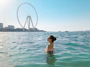 View from the Dubai Eye 👁 🎡 #JBR #VitaminSea #Summerlovin #mydubai #clozette