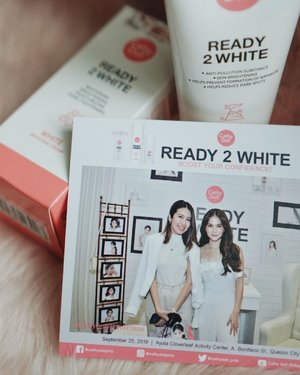 @cathydollphils' launched @elissejosonn as their newest endorser! she loves using the whole ready 2 white line and i can't wait to try it myself. i'll vlog about my first look on the products soon! ⭐️ #cathydollr2wxelisse