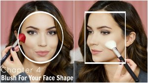 How To Apply Blush For Your Face shape | YouTube