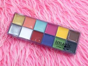 REVIEW: IMAGIC 12 FLASH COLOR  http://karenlizescobar.blogspot.com/2017/08/review-imagic-12-flash-color-palette.html . . . #clozette