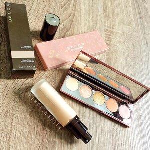 @beccacosmetics #luxolamy #luxola #luxolahaul 🎀 Backlight Priming Filter 🎀 Afterglow Palette  #beautyenthusiast #beautyessentials #beautyblogger #beautyaddict #clozetteco #clozette #makeup #makeuphaul #makeupmalaysia #muamalaysia #makeupaddict #makeupjunkie #makeuplover