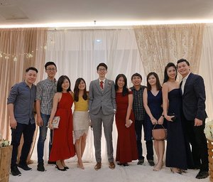 Congrats @dingliksuong on your biggie day! 🎉🎉 Best wishes on this wonderful journey, as you build your new lives together. Wishing you have an amazing married life with Jia Yi, filled with happiness and joy! ❤️ #JIAYIwedDING