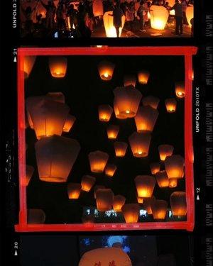 新北市平溪天燈節 Pingxi Sky Lantern Festival was the reason why we went to Taipei. 🤗 🧧 It was on @adriannetan's bucketlist to experience the festival, just like the