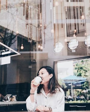 All I need is a cup of coffee and a good book. . . . . . . . . #beauty #fashion #city #sg #lifestyle #singapore #OOTD #style #streetstyle #clozette #StyleInspo #WIWT #coffee