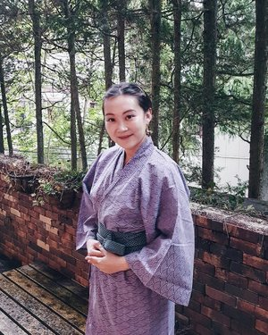 Wrapping up Japan in a Yukata amidst Mount Hakone 👘 . Goodbye Japan, you made MISO happy. ❤🇯🇵