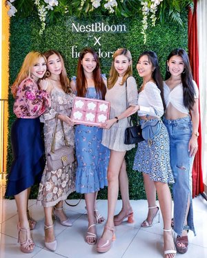 Some of the brightest lights in my life ♥️🤩🙌🏻 Thanks lovelies for gracing the launch of @nestbloomsg's Heritage Bloom (the first of their premium line) with your beautiful presence 😘💫✨ LOVE 🥰 #NestBloom #NestBloomSG #HeritageBloom