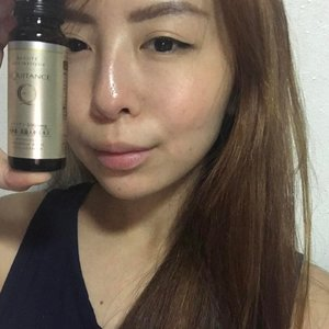 When your skin is too tired and you need this to heal them 😝  #kelynnstory #kelynnbeautycollection #beautydrink #collagendrink #equitance #fightaging #tiredskin #lastnight #throwback #premiumrichcollagenex #beautyfood #clozette #sgbblogger #sgbeauty #sgblogclub #beautyblogger
