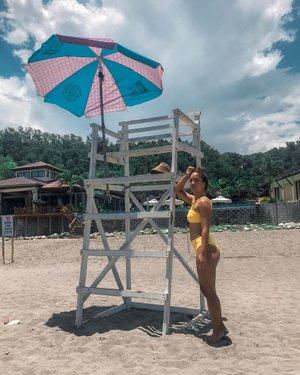 Lifeguard on duty 🍑 Wearing @islaswimph. Love how this one fits! — #clozette #clozetteco #stylesurgeryblog #bloggersph #travel #launion #philippines #weekend #elyu #surftown #sanjuanlaunion #explore #discover #swimwear #swimsuitph #philippinebeaches #beachph #beachbum #islandgirl #islandlife