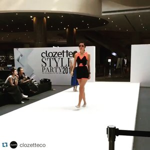 #Repost @clozetteco ・・・ Only a few hours left until @ASOS' Spring/Summer 2016 collection hits the runway at our beauty and fashion show at #ClozetteStyleParty!  Don't forget to drop by @sunteccity North Atrium to catch our amazing lineup of fashion shows and live beauty demos from 5-7 PM! #Clozette