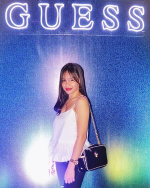 It was indeed a crazy fun higalaay party last night at the #GuessAfterParty and Fall Collection Launch (Snippets at my Insta story). What a way to end the Higalaay Festival, thank you @guess #GuessPh and #GuessCDO. 💫❤️ #Clozette #ootn
